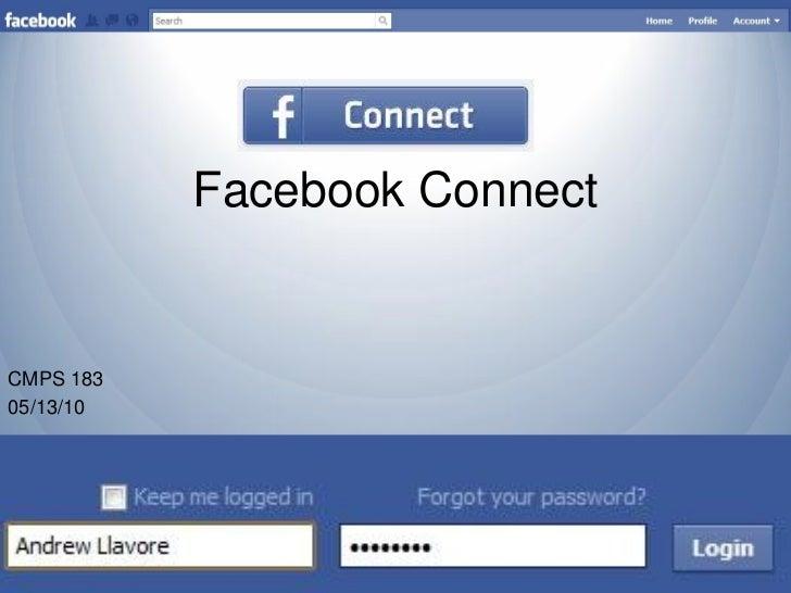 Facebook ConnectCMPS 18305/13/10