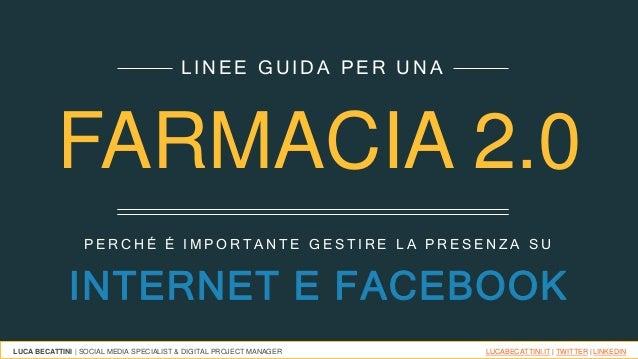 FarmacieApoteca Natura  e Facebook