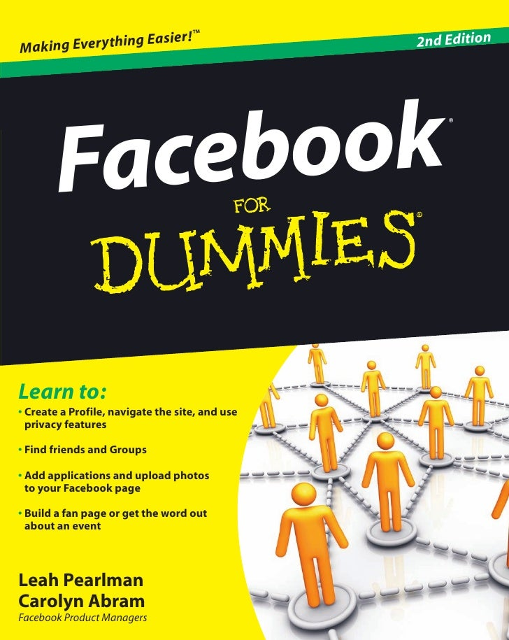 Facebook dummies 2nd