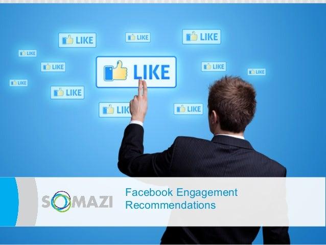 Facebook Engagement      eRecommendations