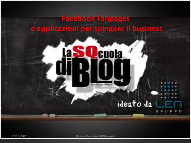 Facebook Fan Page e App per spingere il Business