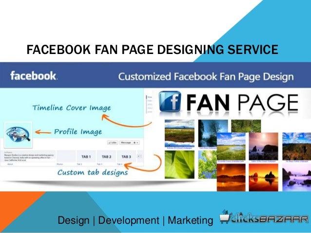 facebook fan page designing service