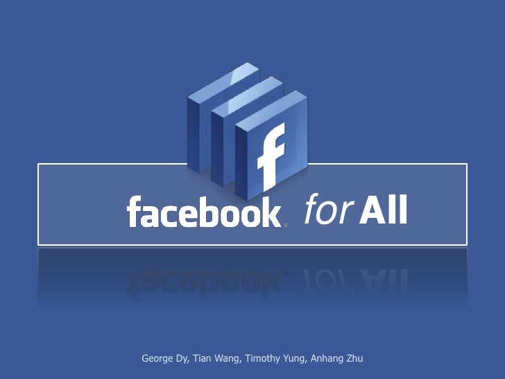 Facebook for All