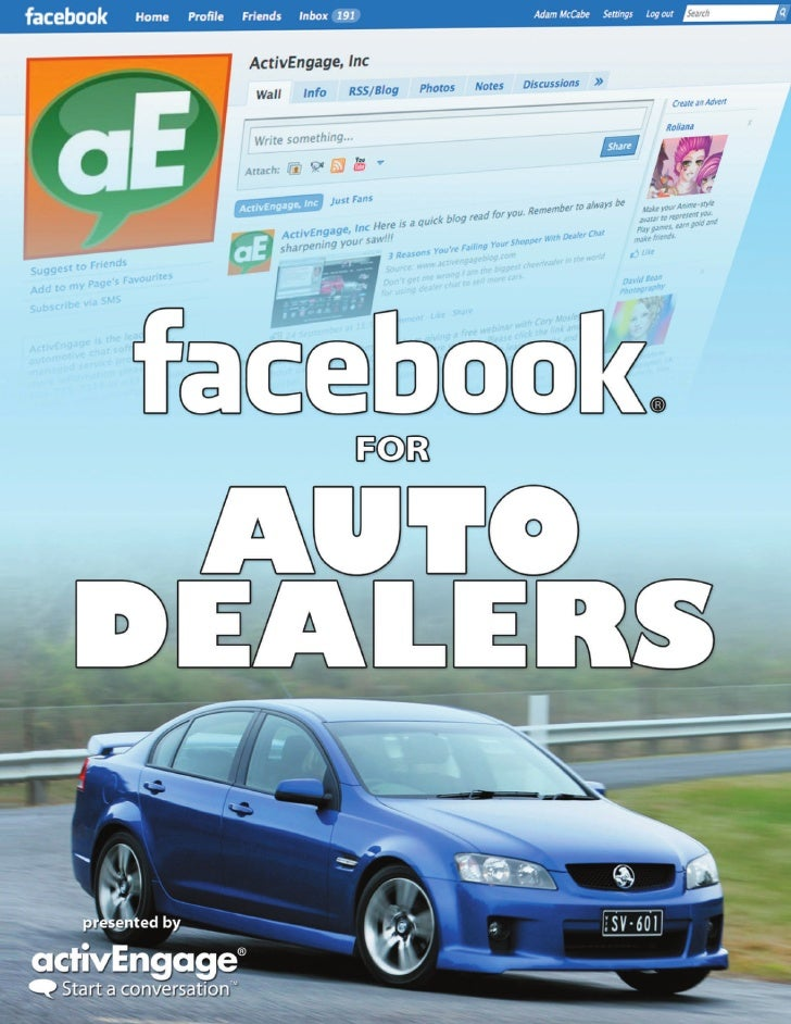 Facebook  For  Auto  Dealers