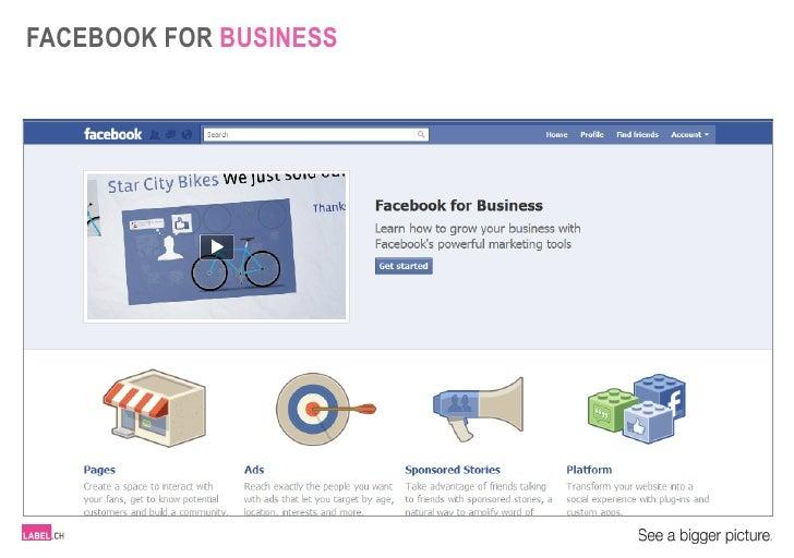 LABEL.ch - Facebook for business - EN