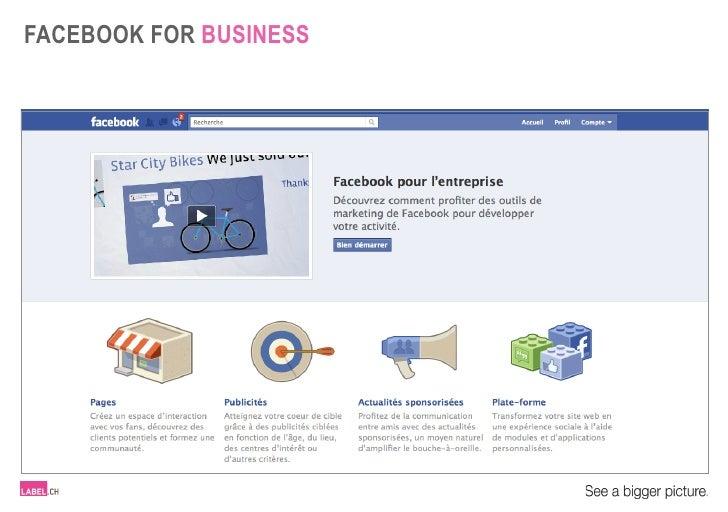 LABEL.ch - Facebook for business - FR