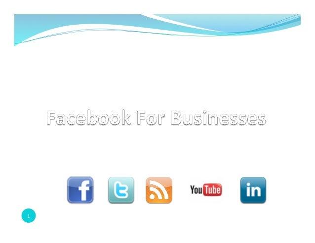 Facebook for Business - Spring 2013