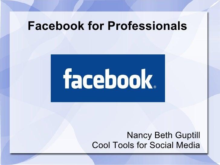 Facebook For Business_Summerside December 2010