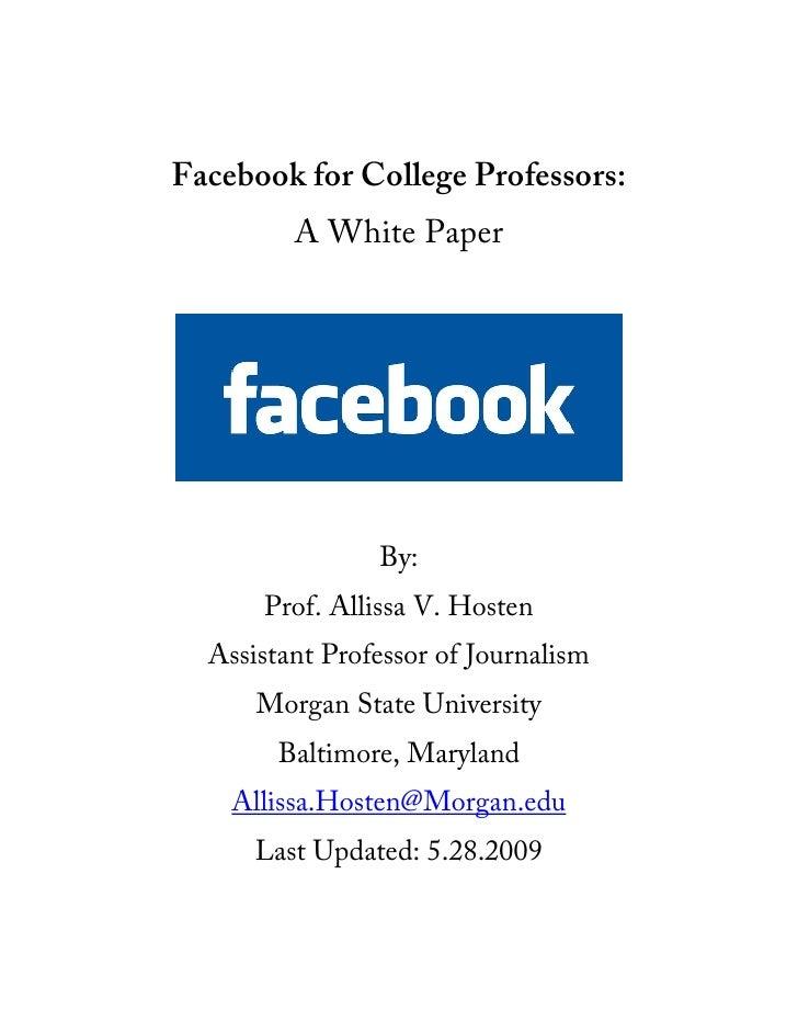 For College professors?