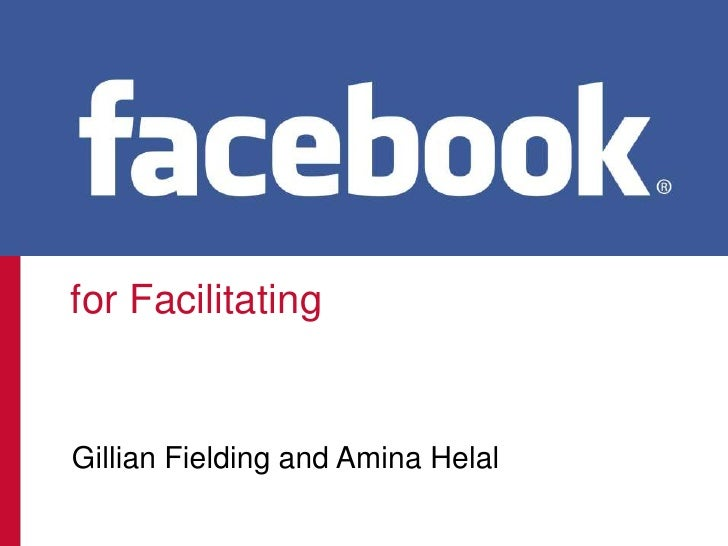 Facebook for Facilitating v8