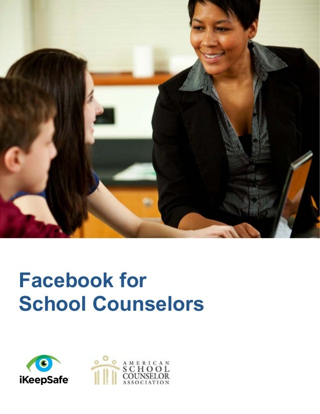 Facebook for school counselors
