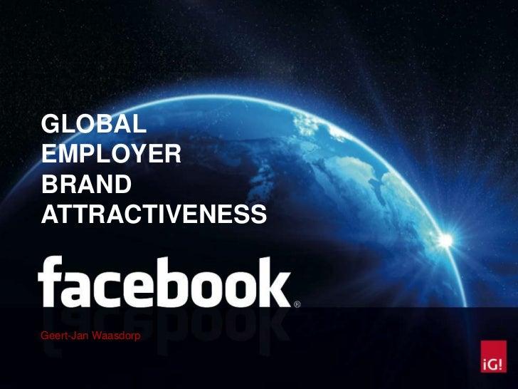 Facebook global employer brand attractiveness