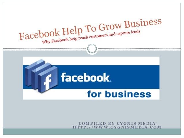Facebook help to grow business