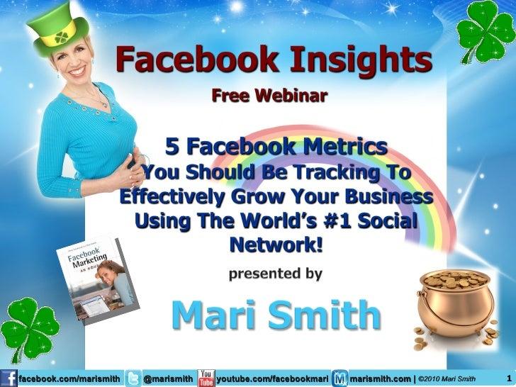 Facebook Insights: 5 Key Success Metrics - Mari Smith