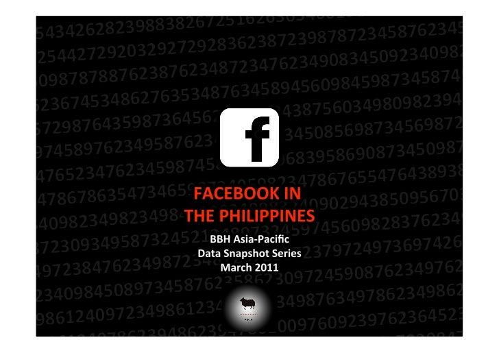 Facebook in The Philippines - March 2011 Data Snapshot