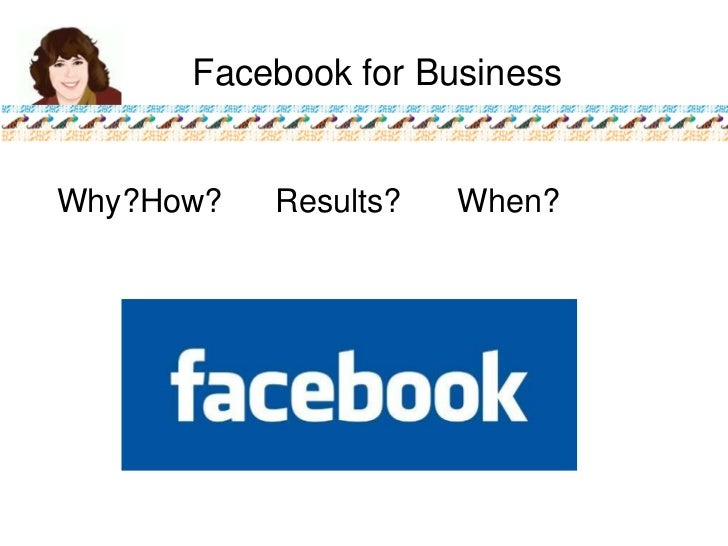 Facebook Intro for Business