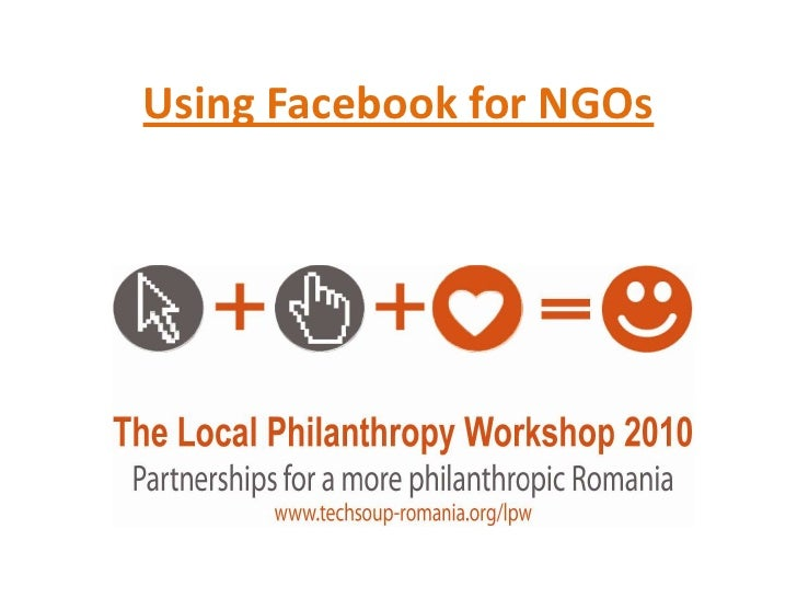 The Local Philanthropy Workshop: Facebook Campaigning in Romania