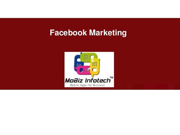 Facebook Marketing <br />