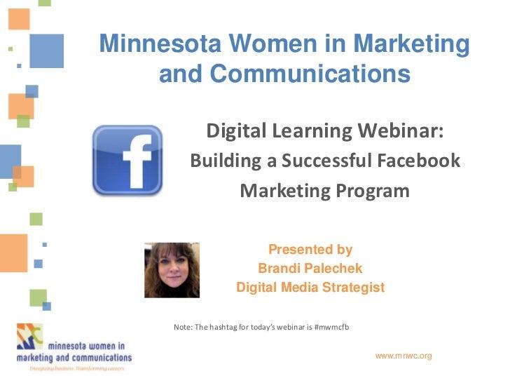 Building a Successful Facebook Marketing Program