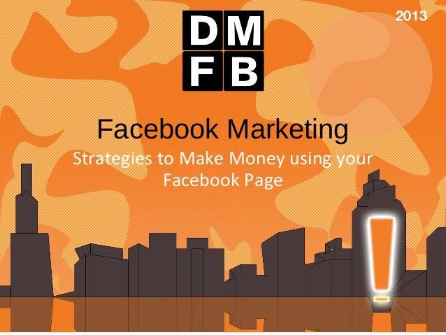 Facebook Marketing DMFB 2013