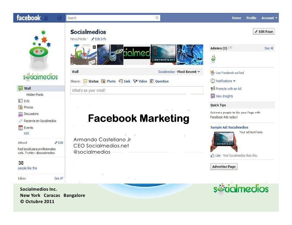 Calcule el ROI                    enFacebook Marketing                       su Mercadeo Digital                     Arman...