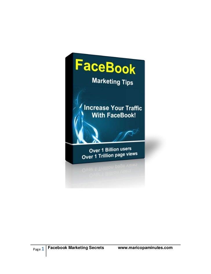 Face book marketing_tips