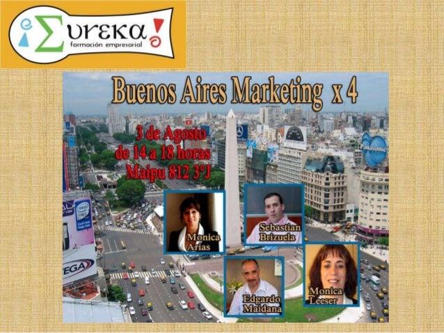 Sebastian Brizuela • Socio Director de ¡Eureka! Capacitaciones • Prof. Marketing Escuela Mutimedial Da Vinci • Capacitador...