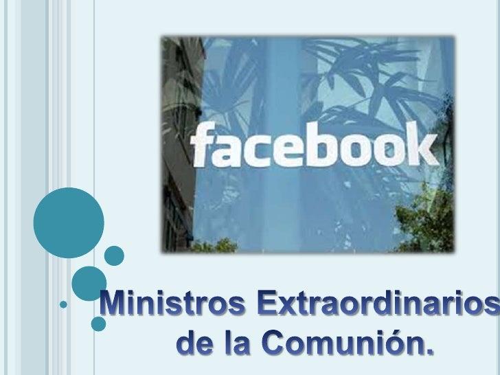 Facebook ministros