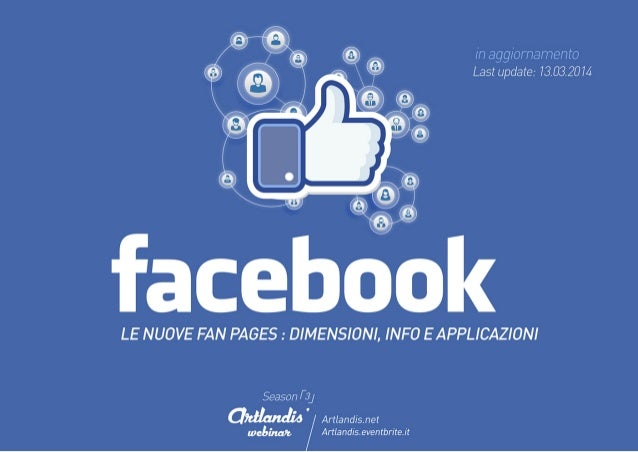 Facebook: le nuove fan pages (info & layout)