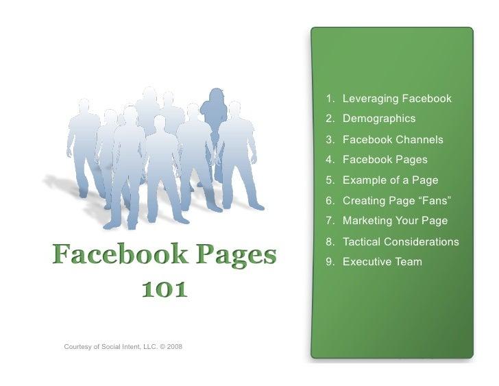 1. Leveraging Facebook                                          2. Demographics                                         ...