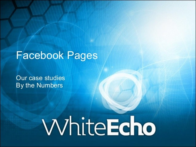 Facebook Pages case studies