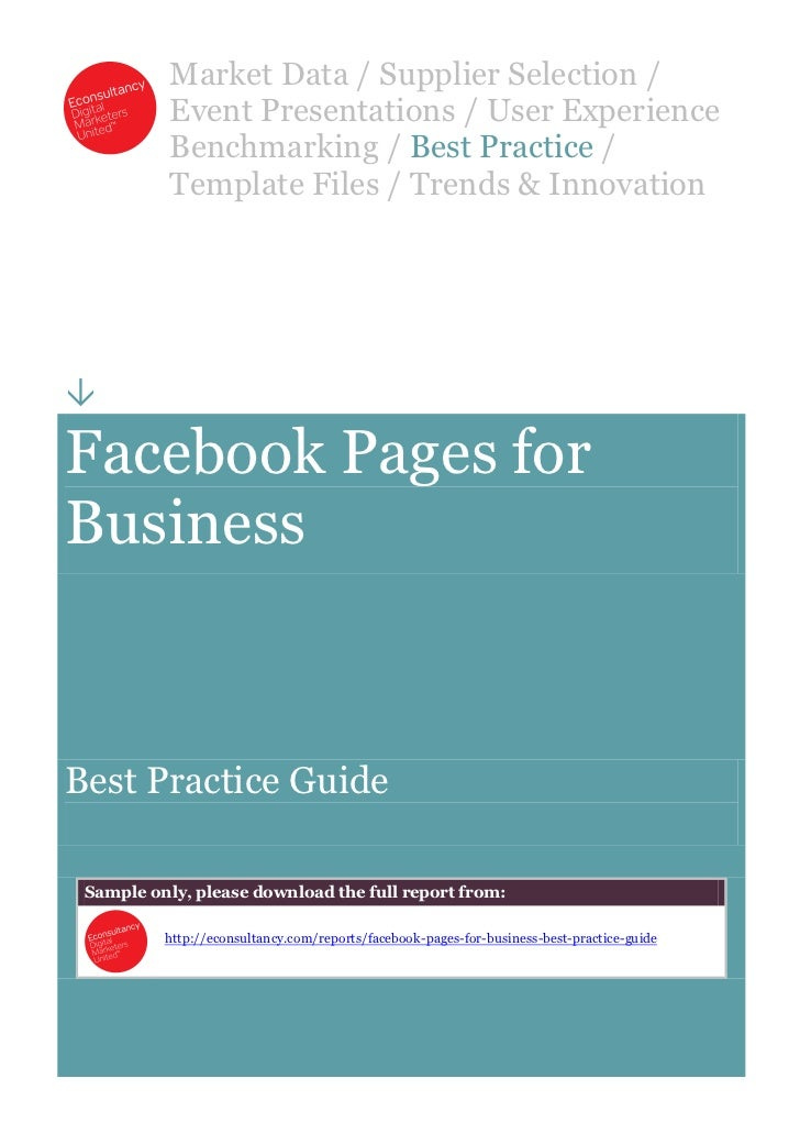 Facebook pages for_business_best_practice_guide