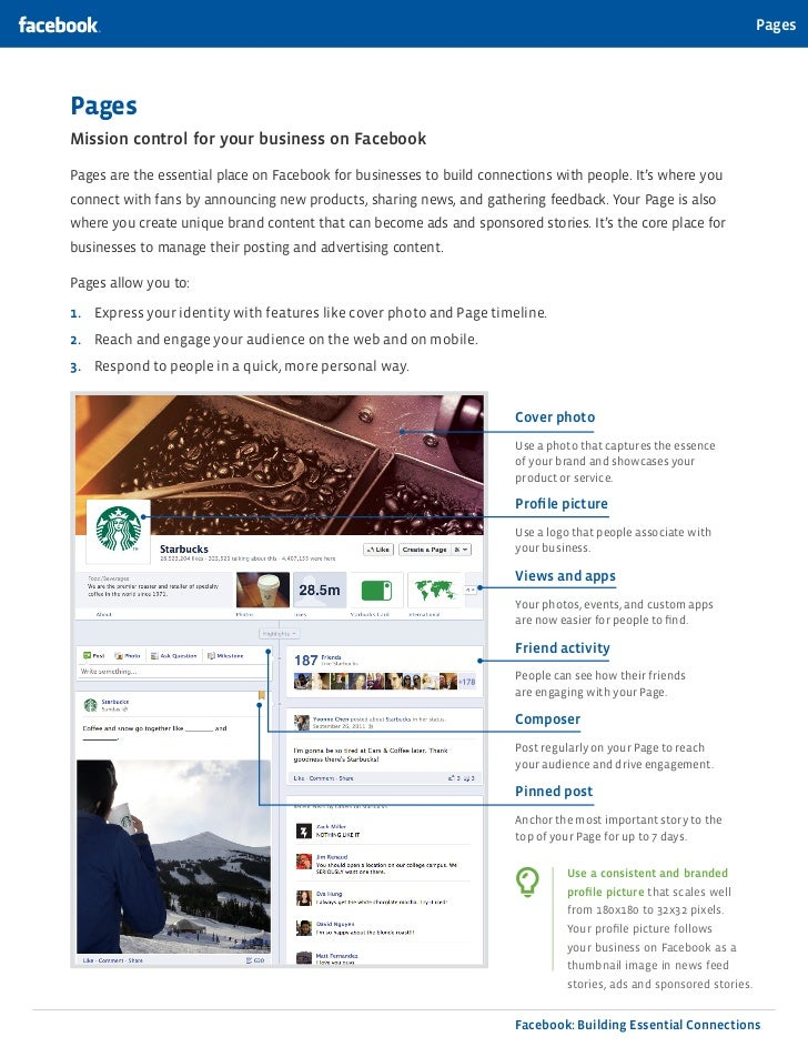 PagesPagesMission control for your business on FacebookPages are the essential place on Facebook for businesses to build c...
