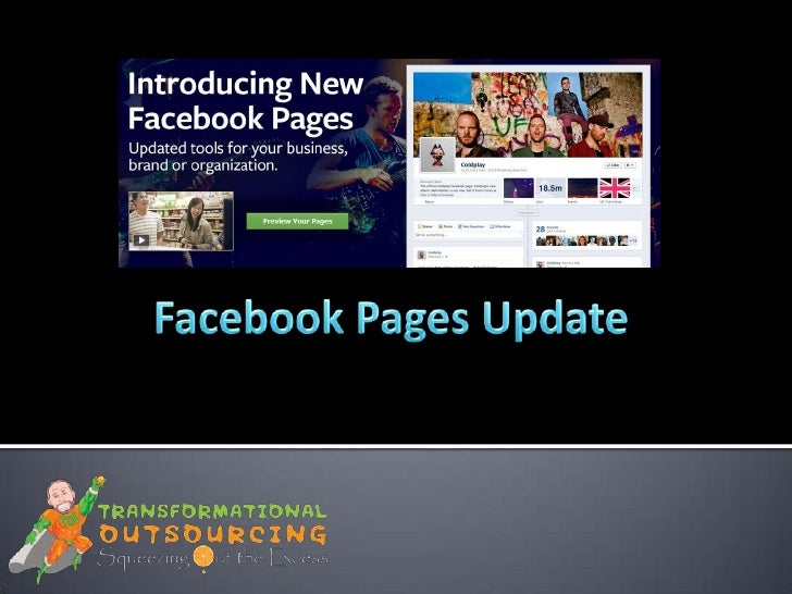 Facebook Pages Update