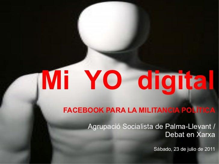 Facebook para la militancia política