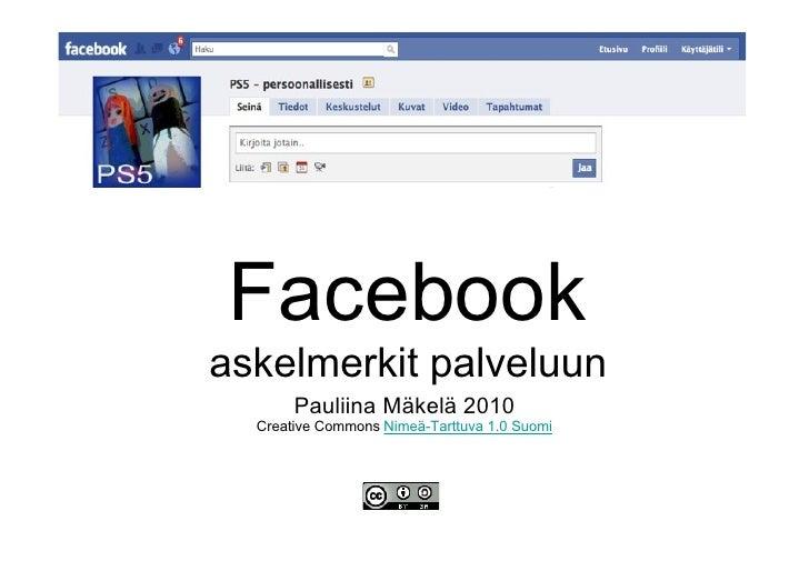 Facebook pauliina makela_2010_05_18
