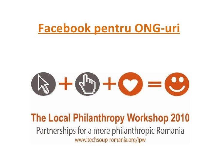 Facebook pentru ONG-uri