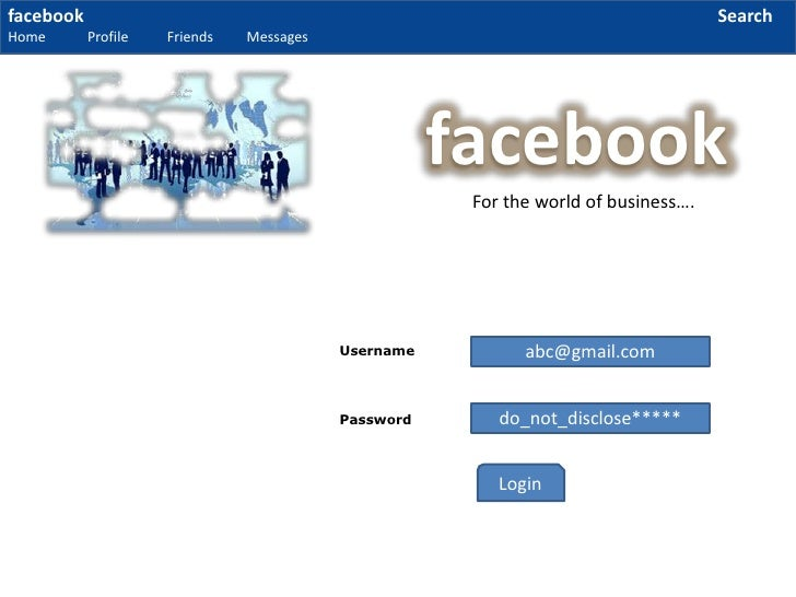 business facebook ppt Carry out a market analysis of how the use of facebook is helping in creating a brand name with free facebook ppt template for powerpoint 2010 mac and pc.