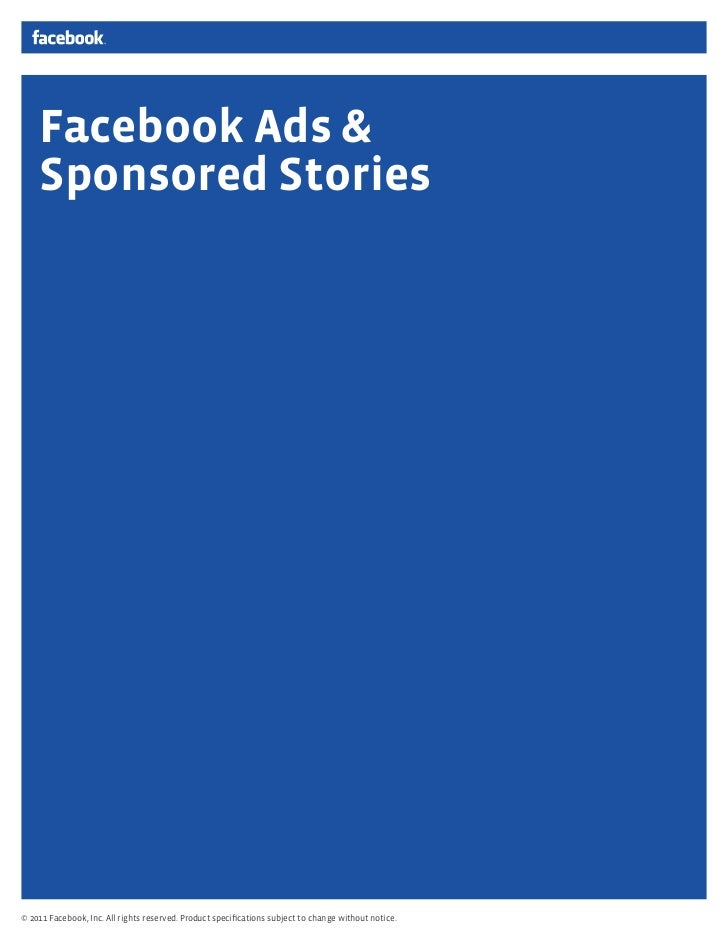 Facebook Ads & Sponsored Stories Guide