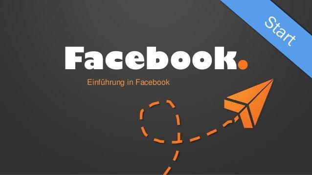 Facebook. Einführung in Facebook