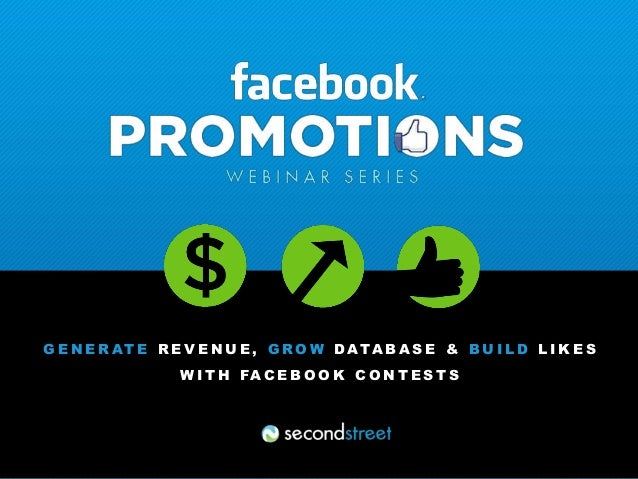 Sales & Marketing for Facebook Promotions