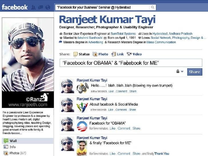 Facebook for OBAMA & Face book for ME