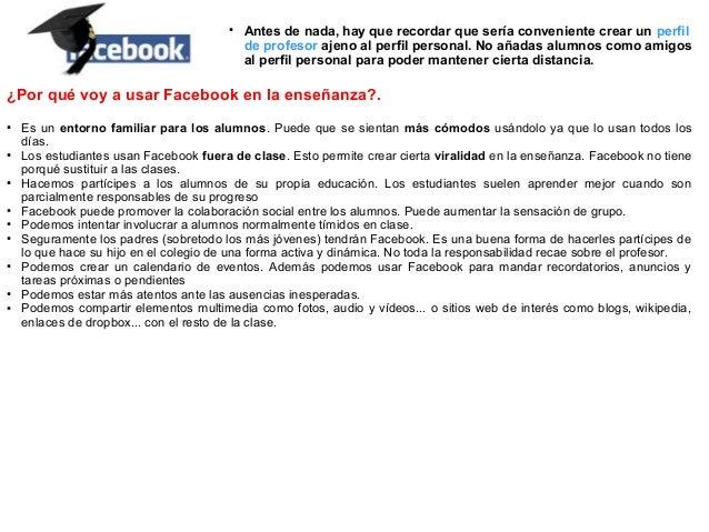 Facebook (razones de uso)