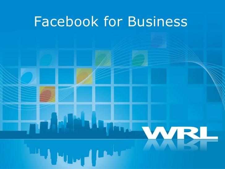 Facebook socialmediapresentation 6.21.11_bob