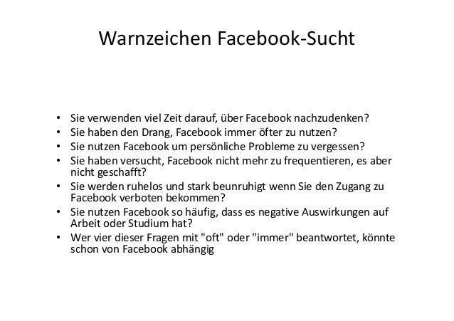 Facebook er sucht sie
