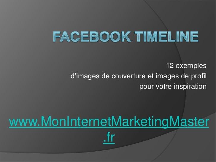 12 exemples         d'images de couverture et images de profil                             pour votre inspirationwww.MonIn...