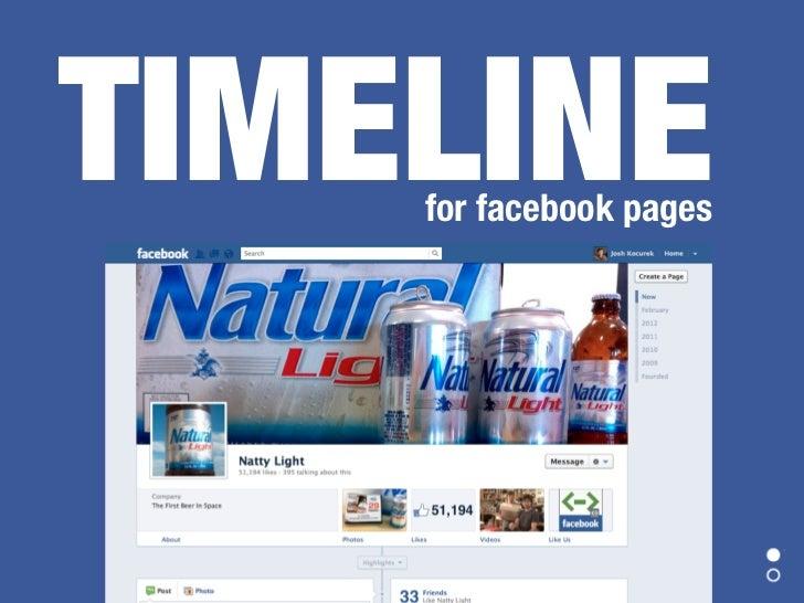 Facebook Timeline for Pages