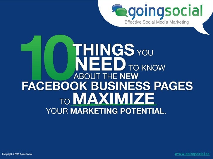 10 Things You Need To Know About The New Facebook Timelines for Pages