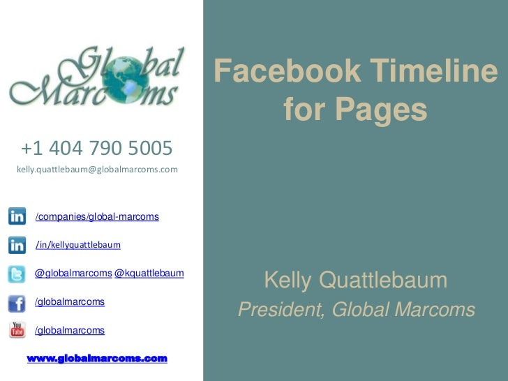Facebook Timeline for Pages | Marietta Business Association MBA | Global Marcoms August 16, 2012