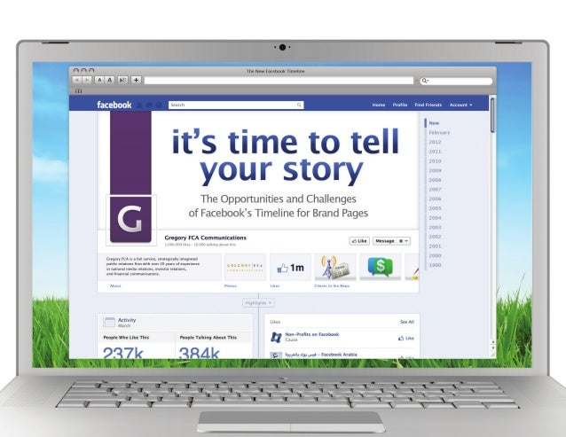 Facebook Timeline - It's Time to Tell your Story
